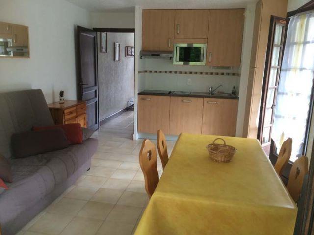 Wakacje w górach Apartament 2 pokojowy 5 osób (A) - Résidence les Covillets - Châtel - Aneks kuchenny