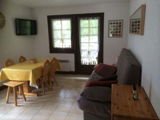 Wakacje w górach Apartament 2 pokojowy 5 osób (A) - Résidence les Covillets - Châtel - Pokój gościnny