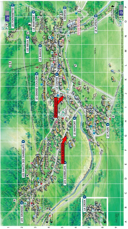 Vacaciones en montaña Résidence les Crêtes - Pralognan-la-Vanoise - Plano