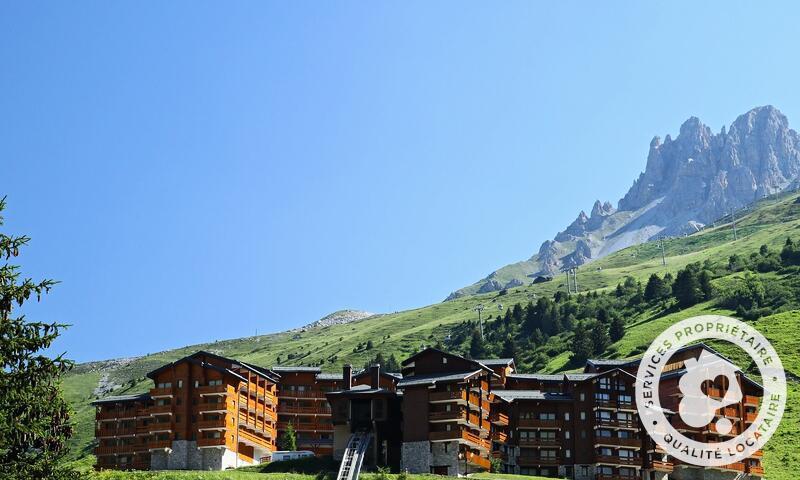 Vacances en montagne Résidence les Crêts - Maeva Home - Méribel-Mottaret - Extérieur été