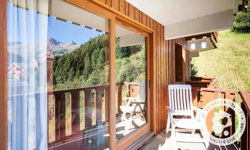 Vacances en montagne Appartement 3 pièces 6 personnes (46m²) - Résidence les Crêts - Maeva Home - Méribel-Mottaret - Extérieur été