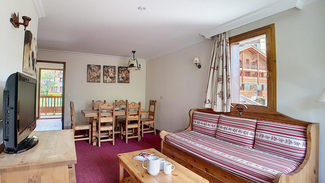 Holiday in mountain resort 3 room apartment 6 people (4) - Résidence les Cristaux - Les Menuires - Table