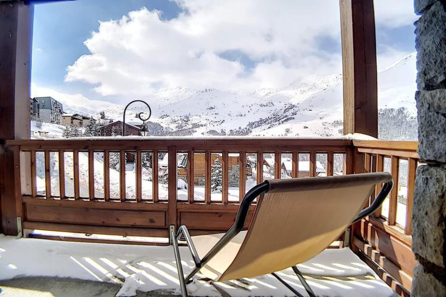Holiday in mountain resort 3 room apartment 6 people (24) - Résidence les Cristaux - Les Menuires