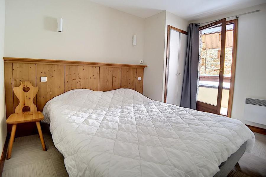 Holiday in mountain resort 4 room apartment 8 people (22) - Résidence les Cristaux - Les Menuires - Single bed
