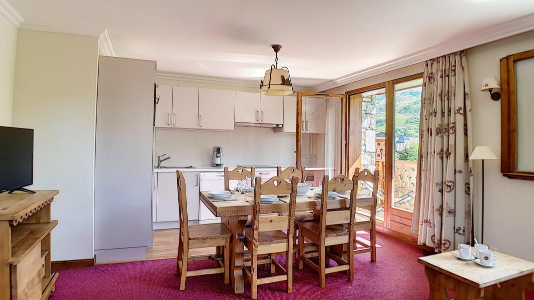 Holiday in mountain resort 3 room apartment 6 people (3) - Résidence les Cristaux - Les Menuires