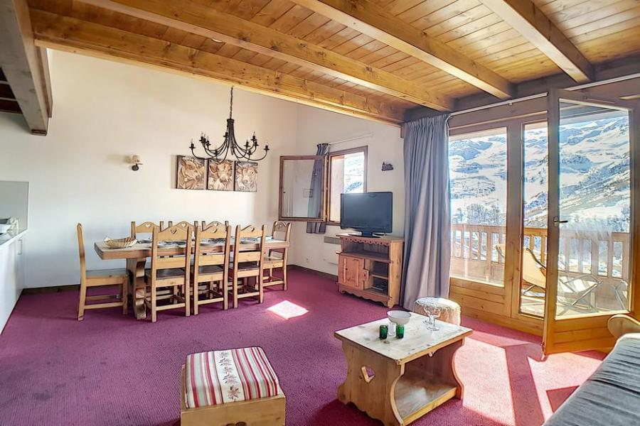 Holiday in mountain resort 4 room duplex apartment 8 people (10) - Résidence les Cristaux - Les Menuires