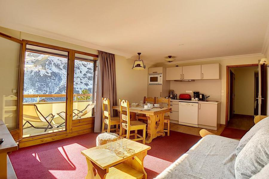 Holiday in mountain resort 2 room apartment 4 people (2) - Résidence les Cristaux - Les Menuires