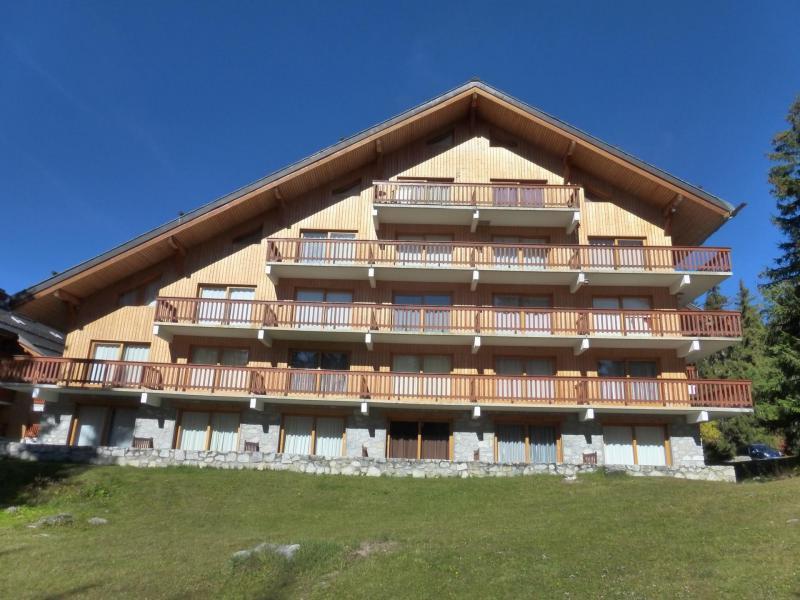 Wakacje w górach Apartament 2 pokojowy z alkową 6 osób (31R) - Résidence les Dauphinelles - Méribel - Na zewnątrz latem