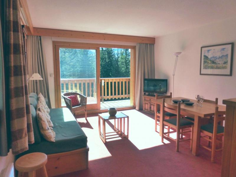 Wakacje w górach Apartament 2 pokojowy z alkową 6 osób (31R) - Résidence les Dauphinelles - Méribel - Pokój gościnny