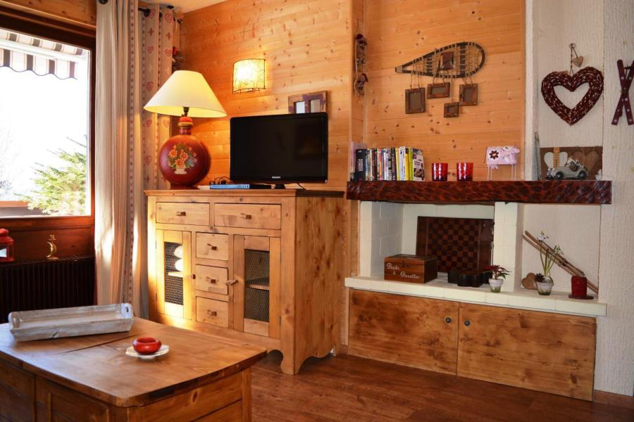 Holiday in mountain resort 2 room apartment 4 people (001) - Résidence les Dodes - Le Grand Bornand - TV