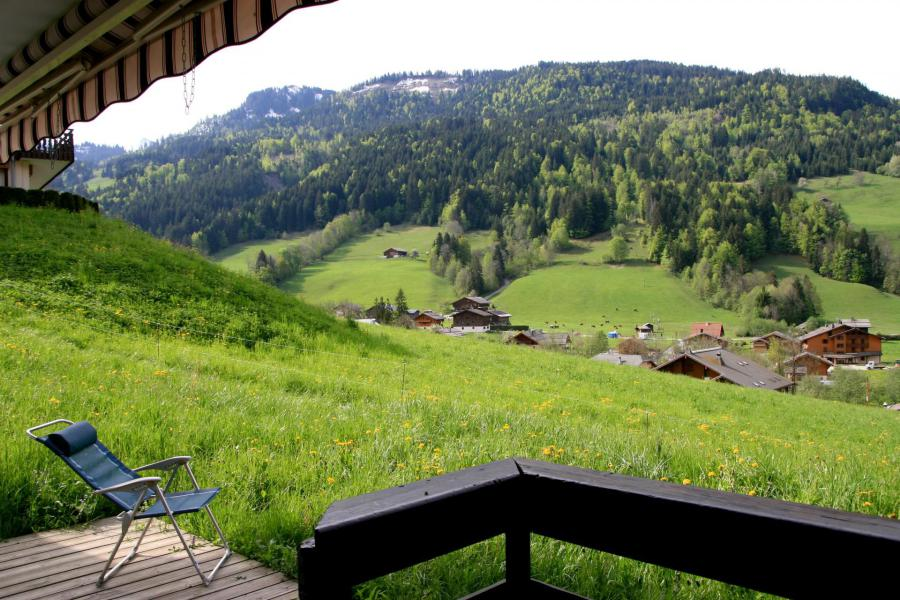 Holiday in mountain resort 3 room apartment 6 people (001) - Résidence les Dodes - Le Grand Bornand - Balcony
