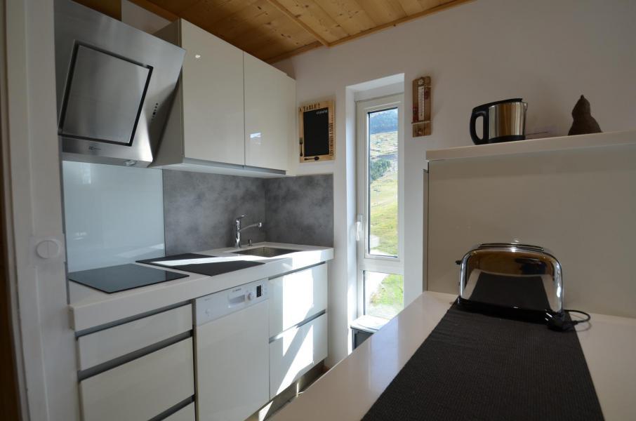 Vacances en montagne Appartement 2 pièces 5 personnes (1205) - Résidence les Dorons - Les Menuires - Plan