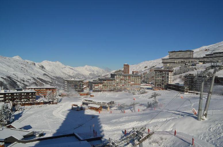 Vacances en montagne Studio 2 personnes (606) - Résidence les Dorons - Les Menuires