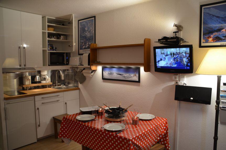 Vacances en montagne Studio 3 personnes (303) - Résidence les Dorons - Les Menuires - Kitchenette