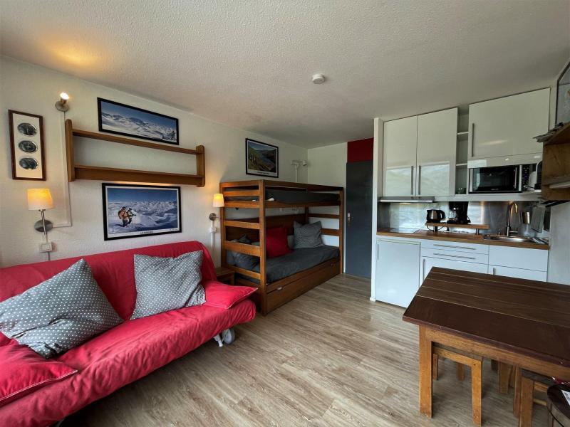 Vacances en montagne Studio 3 personnes (303) - Résidence les Dorons - Les Menuires - Table