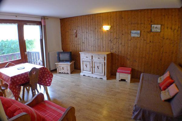 Vacaciones en montaña Apartamento 2 piezas para 4 personas (10) - Résidence les Drugères - Samoëns