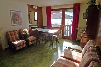 Vacaciones en montaña Apartamento dúplex 4 piezas 8 personas (4P01) - Résidence les Drugères - Samoëns - Estancia