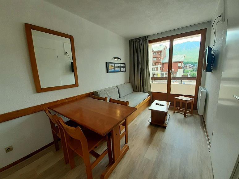 Vacances en montagne Appartement 2 pièces 5 personnes (119) - Résidence les Drus - La Plagne - Séjour