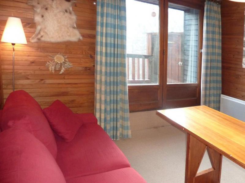 Holiday in mountain resort Logement 1 pièces 4 personnes (411) - Résidence les Ecrins - Les Orres