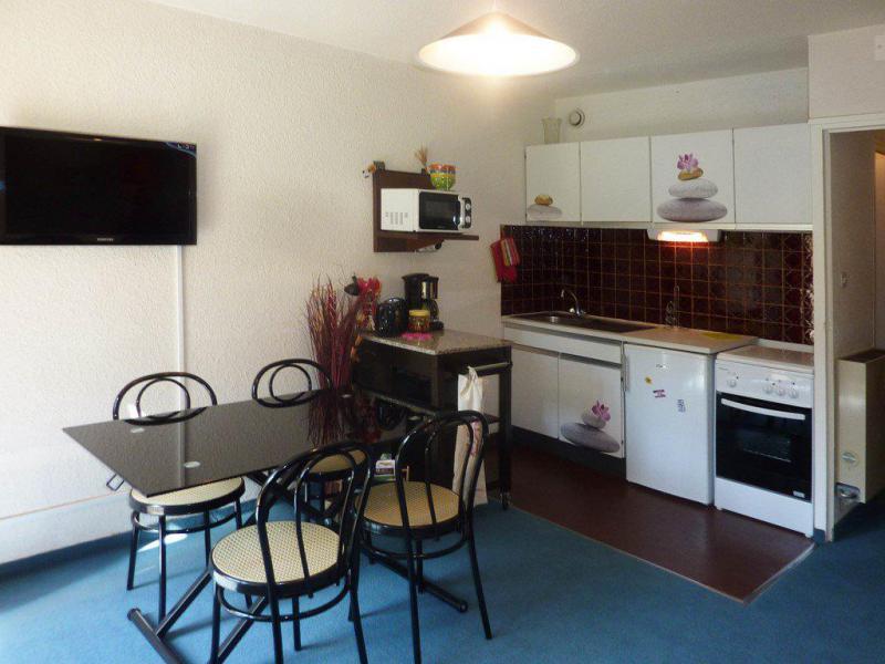 Holiday in mountain resort Studio sleeping corner 4 people (401) - Résidence les Ecrins - Les Orres - Kitchenette