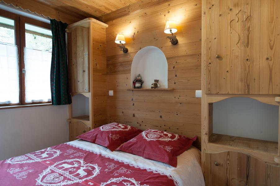 Holiday in mountain resort 3 room apartment 4 people - Résidence les Edelweiss - Champagny-en-Vanoise - Bedroom