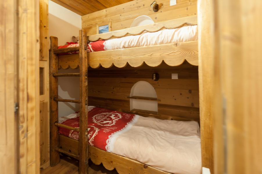 Holiday in mountain resort 3 room apartment 4 people - Résidence les Edelweiss - Champagny-en-Vanoise - Bunk beds