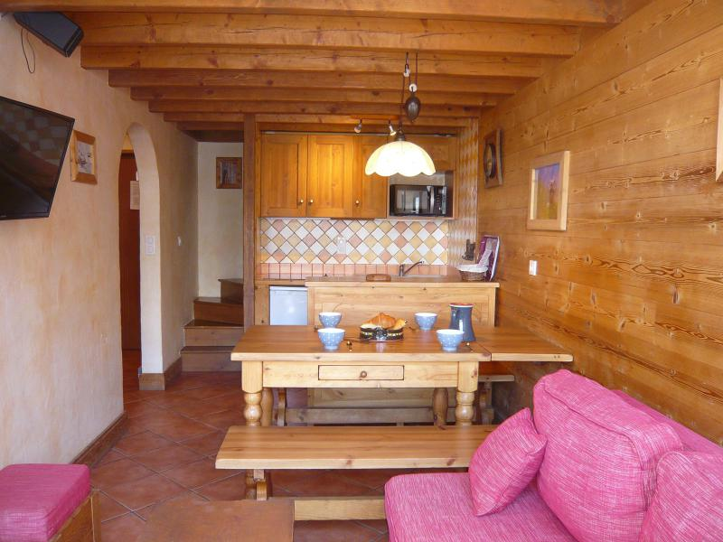 Holiday in mountain resort 3 room apartment 5 people - Résidence les Edelweiss - Champagny-en-Vanoise - Settee