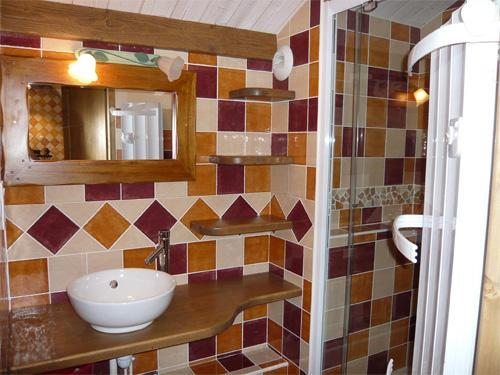 Holiday in mountain resort 3 room apartment 5 people - Résidence les Edelweiss - Champagny-en-Vanoise - Shower room