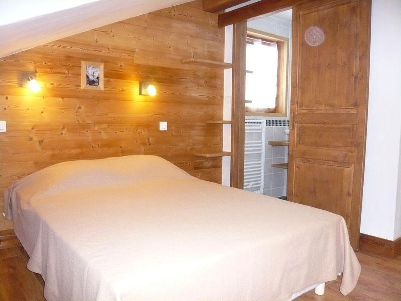 Holiday in mountain resort 3 room chalet 7 people - Résidence les Edelweiss - Champagny-en-Vanoise - Bedroom under mansard