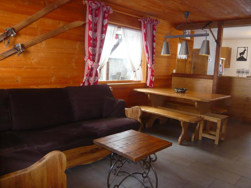 Holiday in mountain resort 3 room chalet 7 people - Résidence les Edelweiss - Champagny-en-Vanoise - Bench seat