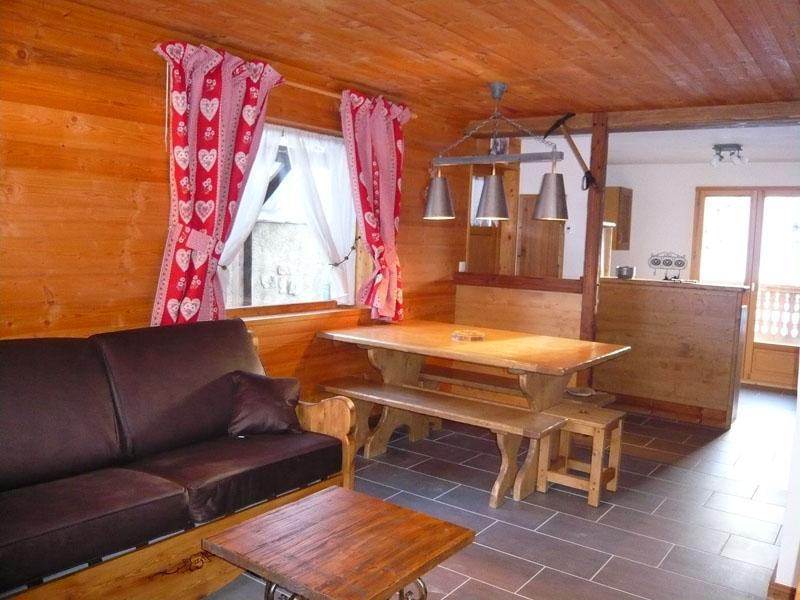 Holiday in mountain resort 3 room chalet 7 people - Résidence les Edelweiss - Champagny-en-Vanoise - Living room