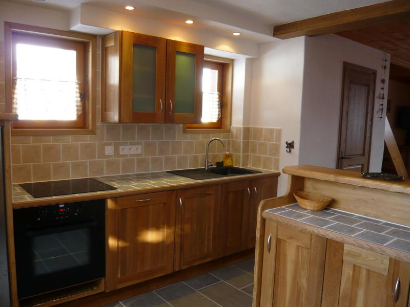 Holiday in mountain resort 3 room chalet 7 people - Résidence les Edelweiss - Champagny-en-Vanoise - Open-plan kitchen
