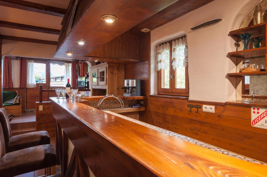 Holiday in mountain resort 3 room mezzanine semi-detached chalet 6-8 people - Résidence les Edelweiss - Champagny-en-Vanoise - Bar