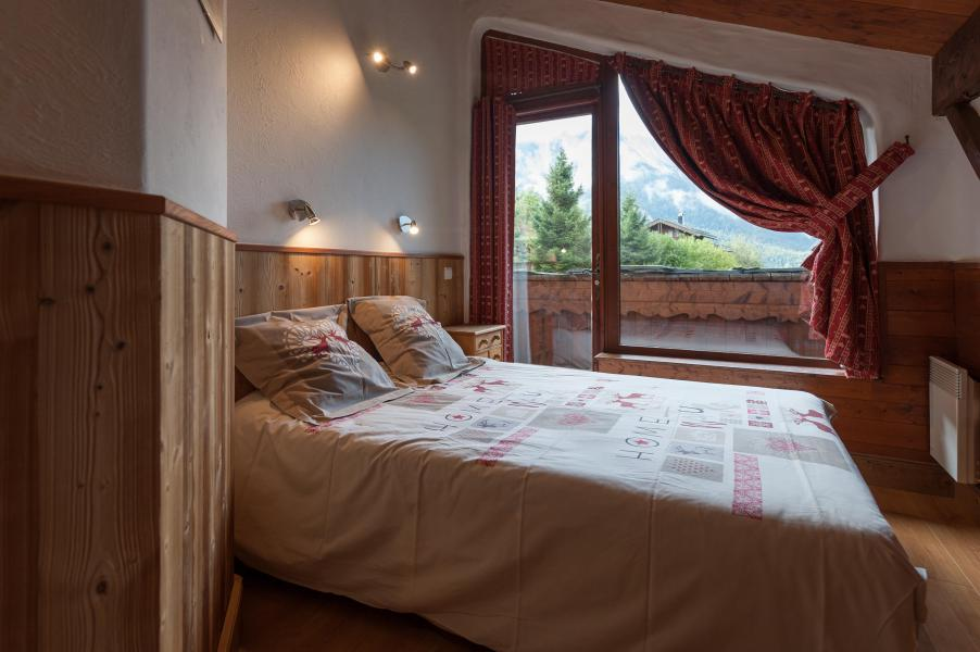 Holiday in mountain resort 3 room mezzanine semi-detached chalet 6-8 people - Résidence les Edelweiss - Champagny-en-Vanoise - Bedroom