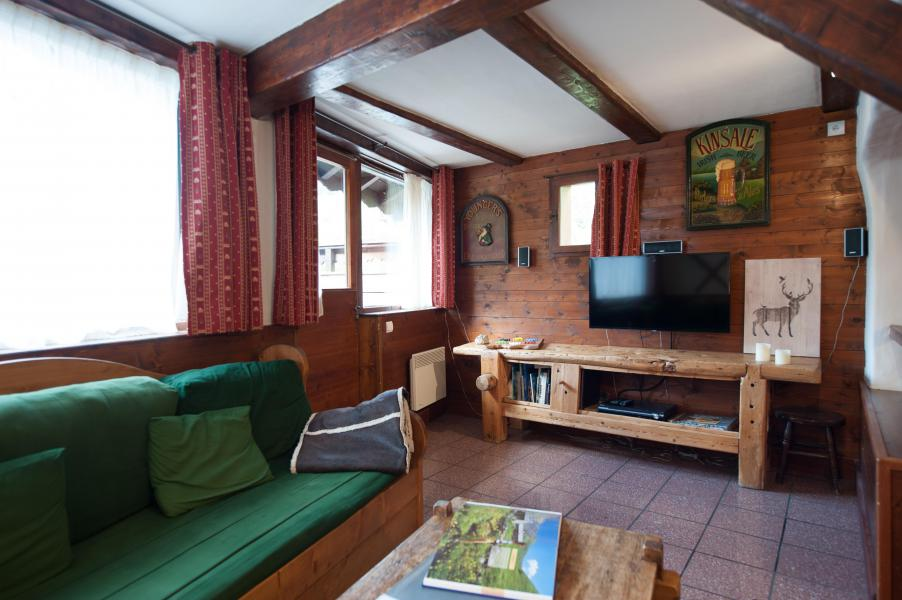 Holiday in mountain resort 3 room mezzanine semi-detached chalet 6-8 people - Résidence les Edelweiss - Champagny-en-Vanoise - TV