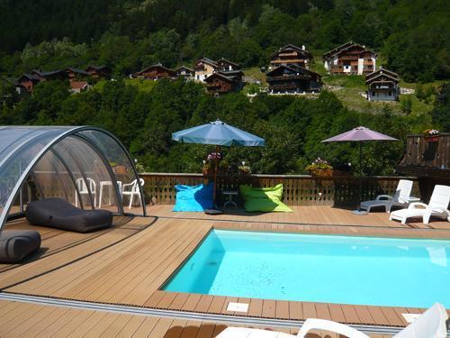 Location au ski Résidence les Edelweiss - Champagny-en-Vanoise - Extérieur été