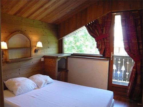 Vacances en montagne Appartement 3 pièces 5 personnes - Résidence les Edelweiss - Champagny-en-Vanoise - Chambre mansardée