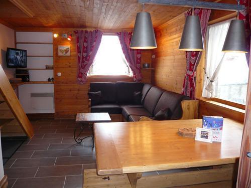 Vacances en montagne Chalet 3 pièces 7 personnes - Résidence les Edelweiss - Champagny-en-Vanoise - Séjour