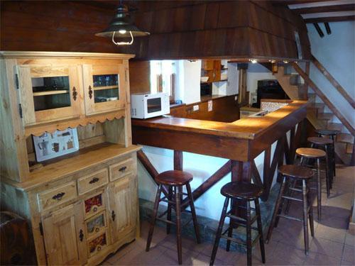Vacances en montagne Chalet mitoyen 3 pièces mezzanine 6-8 personnes - Résidence les Edelweiss - Champagny-en-Vanoise - Cuisine