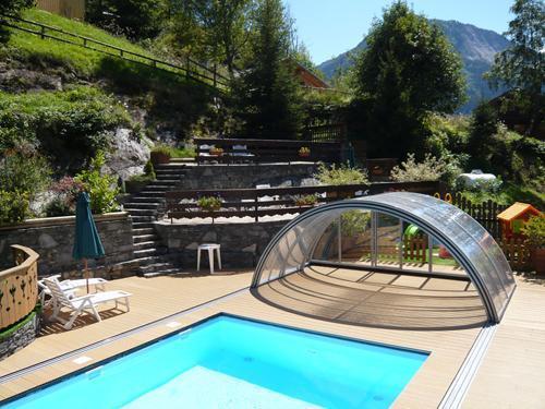 Vacances en montagne Chalet 3 pièces 7 personnes - Résidence les Edelweiss - Champagny-en-Vanoise - Piscine
