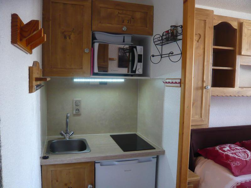 Holiday in mountain resort Studio 2 people - Résidence les Edelweiss - Champagny-en-Vanoise - Kitchenette