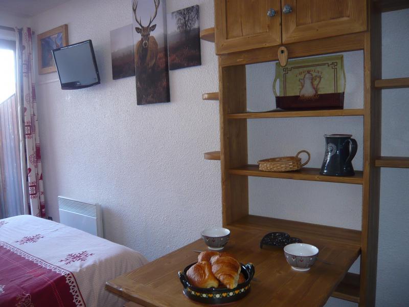 Vakantie in de bergen Studio 2 personen - Résidence les Edelweiss - Champagny-en-Vanoise - Eethoek