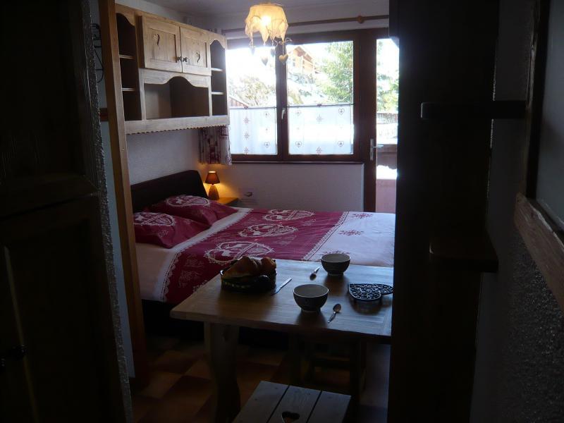 Vakantie in de bergen Studio 2 personen - Résidence les Edelweiss - Champagny-en-Vanoise - Kamer