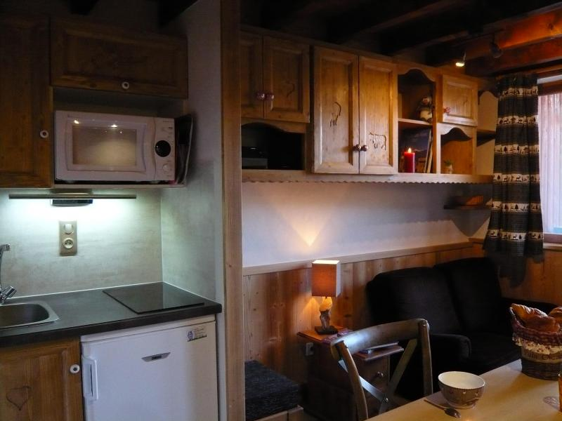 Holiday in mountain resort Studio 3 people (standard) - Résidence les Edelweiss - Champagny-en-Vanoise - Kitchen