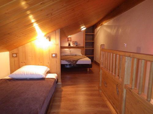 Vacances en montagne Studio 3 personnes (Confort) - Résidence les Edelweiss - Champagny-en-Vanoise - Lit simple