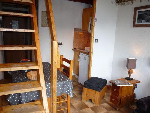 Vacances en montagne Studio 3 personnes (standard) - Résidence les Edelweiss - Champagny-en-Vanoise - Coin repas