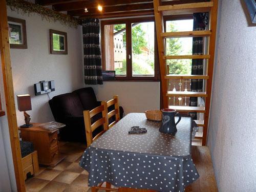 Vacances en montagne Studio 3 personnes (standard) - Résidence les Edelweiss - Champagny-en-Vanoise - Séjour