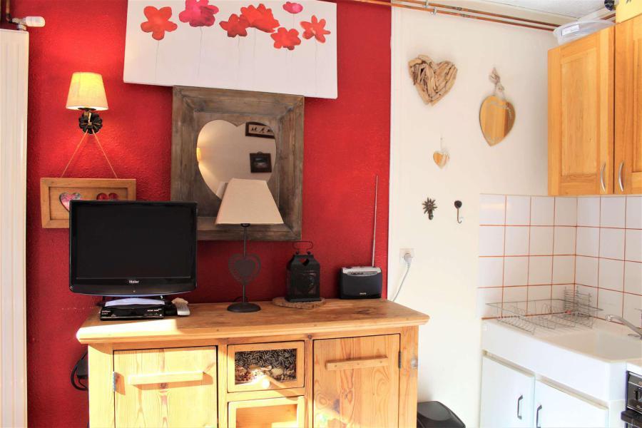 Wakacje w górach Studio 4 osoby (010) - Résidence les Edelweiss - Vars - Aneks kuchenny