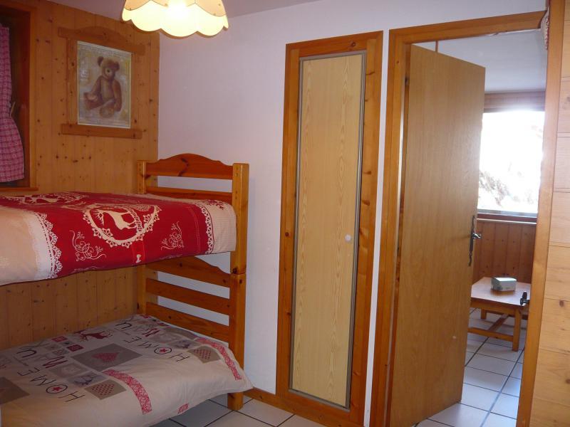 Vacances en montagne Studio 4 personnes - Résidence les Edelweiss - Champagny-en-Vanoise - Lits superposés