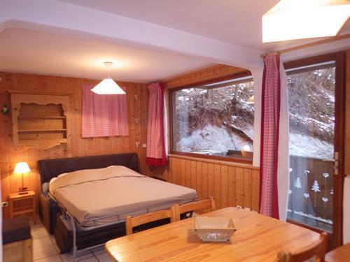 Vacances en montagne Studio 4 personnes - Résidence les Edelweiss - Champagny-en-Vanoise - Séjour